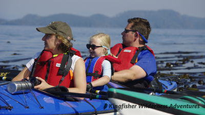 Family Kayak With Whales Kayak Tours