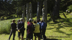 Southern Gwaii Haanas Kayak Tour - Visiting the UNESCO World Heritage Site of Ninstints (SGang Gwaay Linagaay).
