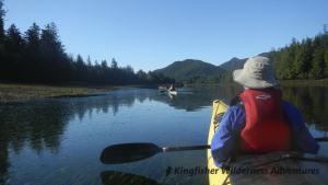 Southern Gwaii Haanas Kayak Tour - Kayaking and exploring the shoreline at low tide.