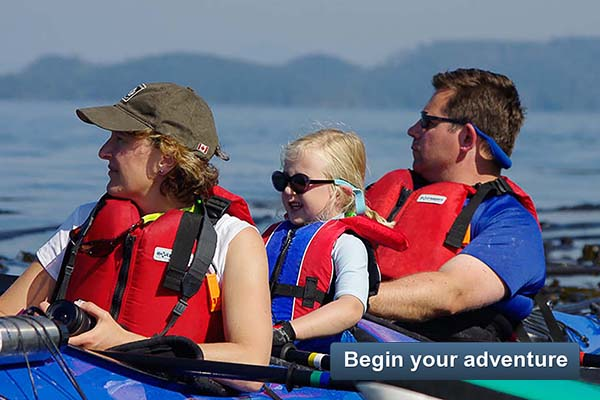 Family Kayak With Whales - Begin your adventure