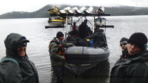 Southern Gwaii Haanas Kayak Tour - Preparing for the zodiac ride back to civilization.