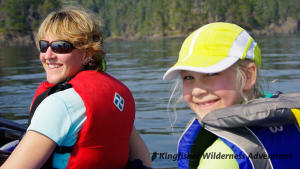 Family Kayak With Whales Tour - Enjoying a day of kayaking.