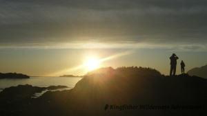Sea Otter Explorer Kayak Tour - West coast sunset.