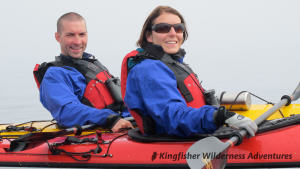 Whales and Grizzly Bears Kayak Tour - Enjoying kayaking at the Orca Waters Base Camp.