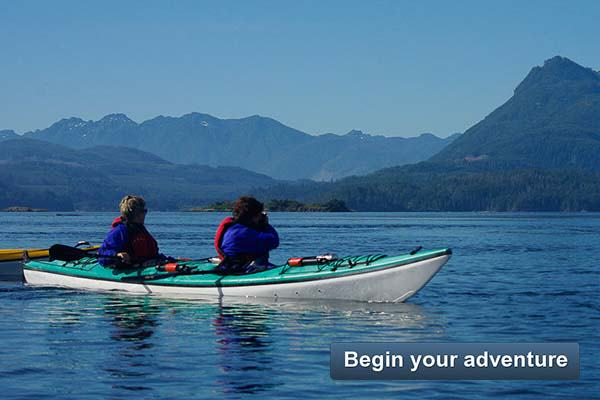 Begin your adventure - Kayak Day Trips