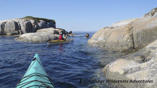 Orca Waters Explorer Kayak Tour - Kayaking along the edge of eastern Queen Charlotte Strait.