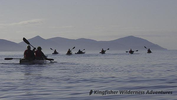 Southern Gwaii Haanas Kayak Tour - Kayaking in Gwaii Haanas.