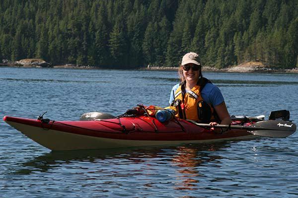 Kayak Guide - Sabina Hamilton