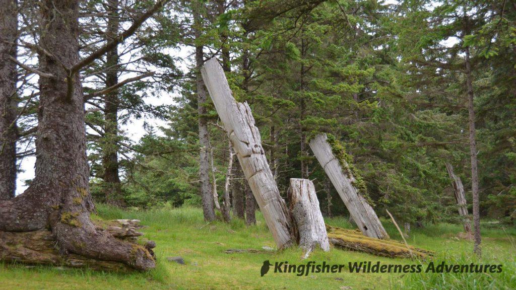 Totem Poles at Skedans